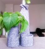 Декорация за дома от стар пуловер